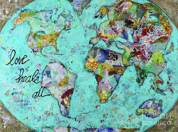 Wall Art - Painting - Love Heals All by Kirsten Reed