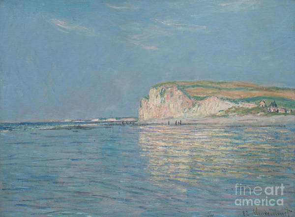 Wall Art - Painting - Low Tide At Pourville, Near Dieppe, 1882  by Claude Monet