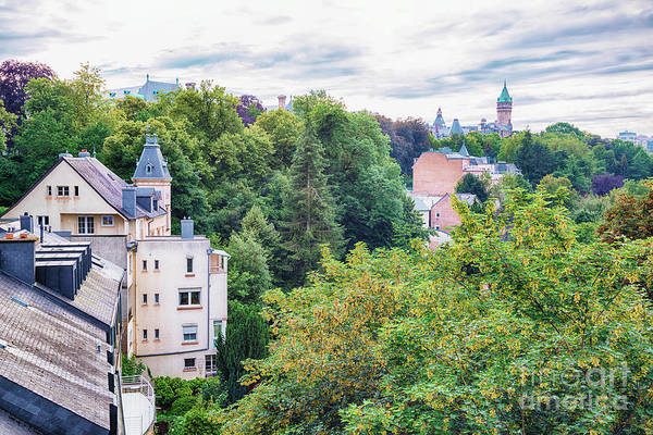 Photograph - Luxembourg City  by Ariadna De Raadt