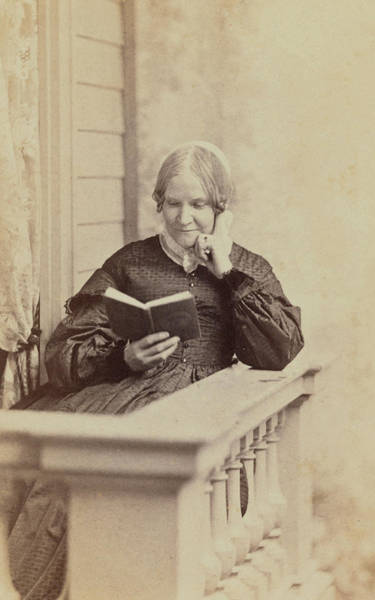 Wall Art - Photograph - Lydia Maria Child, American by Science Source