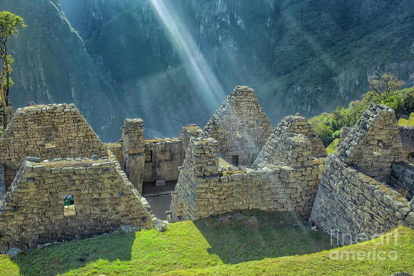 Wall Art - Photograph - Machu Picchu by Patricia Hofmeester