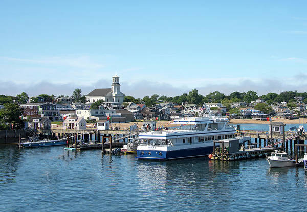 Provincetown Ma Wall Art - Photograph - Macmillan Pier And Provincetown Harbor - Massachusetts by Brendan Reals
