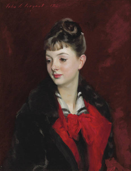 Wall Art - Painting - Mademoiselle Suzanne Poirson by John Singer Sargent