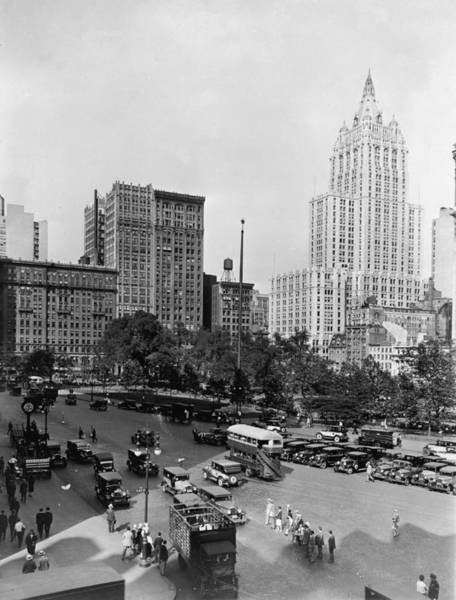 Insurance Photograph - Madison Square Park by Fpg
