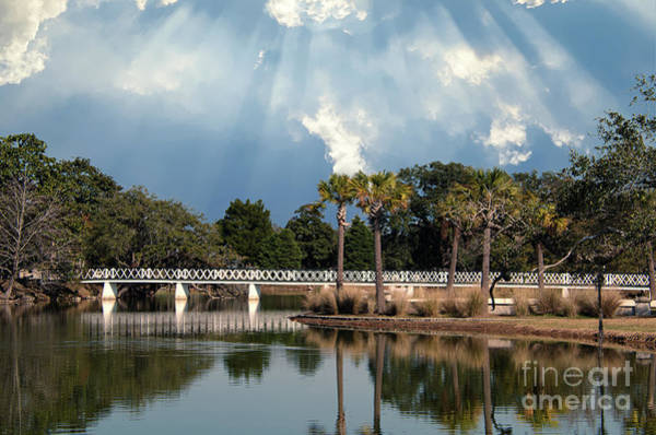 Photograph - Magnolia Bridge by Dale Powell