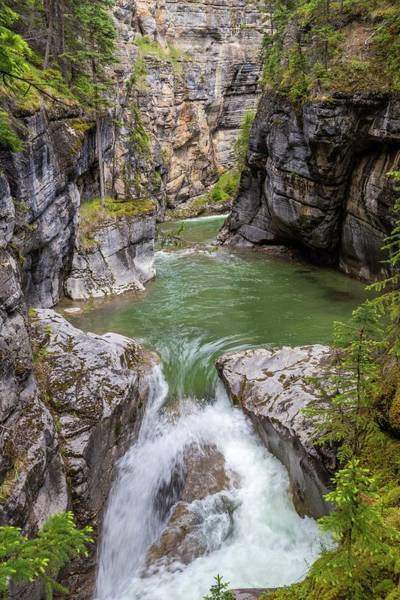 Photograph - Maligne Canyon by Paul Schultz