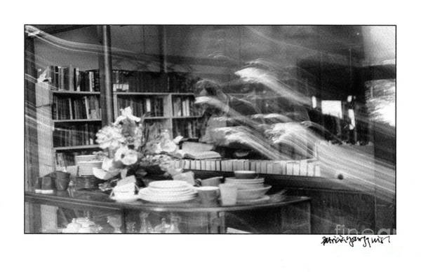 Photograph - Man At Book Store by Patricia Youngquist