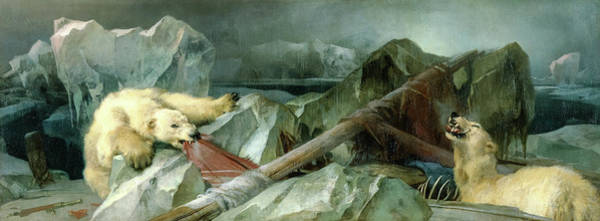 Wall Art - Painting - Man Proposes, God Disposes by Sir Edwin Landseer