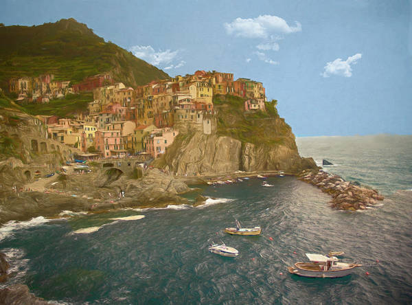 Photograph - Manarola, Italy by Mick Burkey