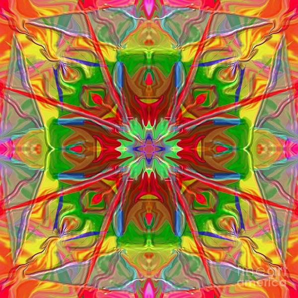 Painting - Mandala 12 8 2018 by Hidden Mountain