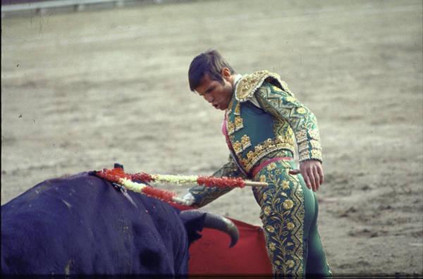 Matador Photograph - Manuel Benitez by Loomis Dean