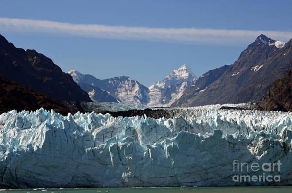 Wall Art - Digital Art - Margerie Glacier At Glacier Bay In Alaska by Eva Kaufman