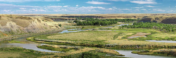 Wall Art - Photograph - Marias River Valley by Todd Klassy