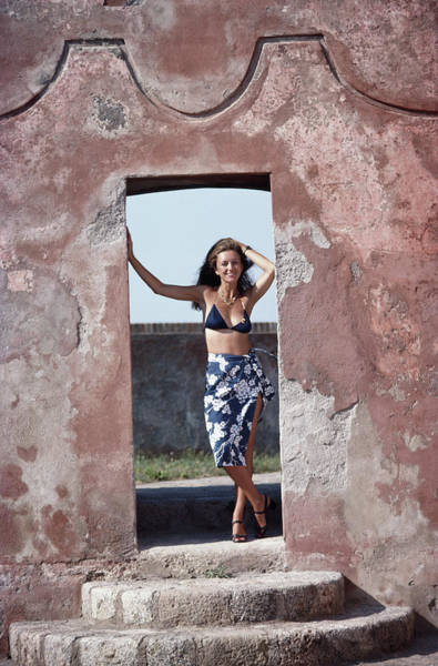 Tuscany Photograph - Marie-louise Scio by Slim Aarons