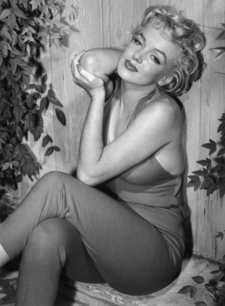 Smiling Photograph - Marilyn Monroe by Baron