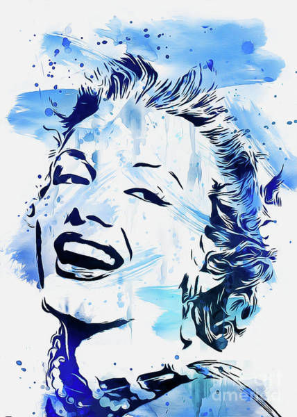 Digital Art - Marilyn Monroe by Ian Mitchell