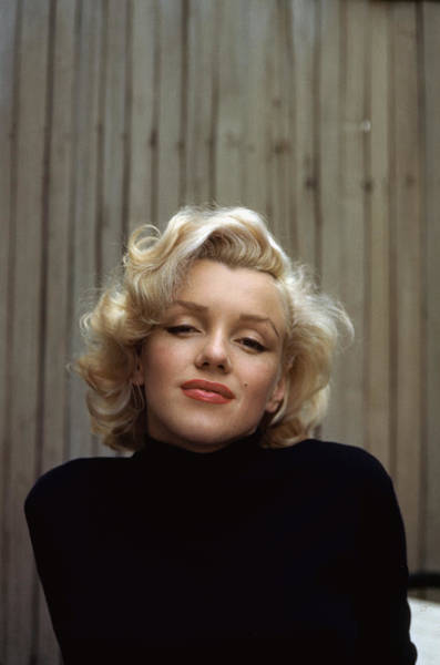 Marilyn Monroe Photograph - Marilyn Monroe On Patio Outside Of Her by Alfred Eisenstaedt