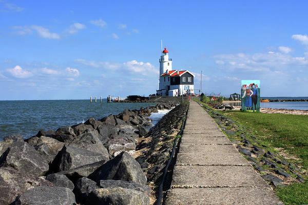 Photograph - Marken Lighthouse, Holland by Aidan Moran