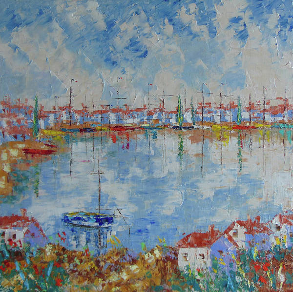 Painting - Marseille by Frederic Payet