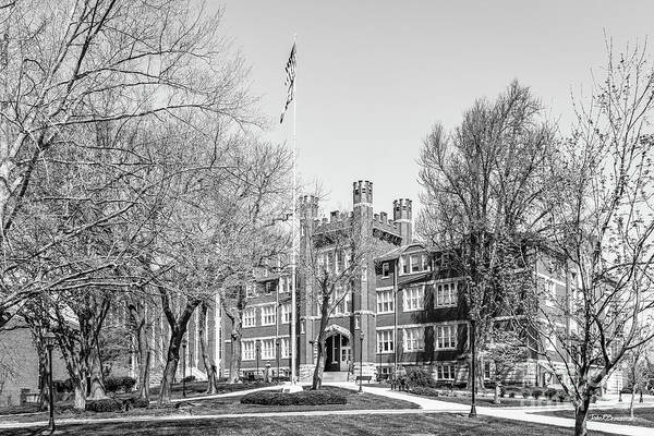 Wall Art - Photograph - Marshall University Old Main by University Icons