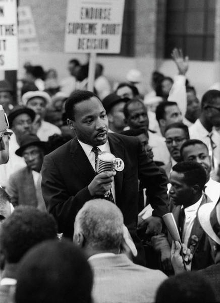 Chicago Photograph - Martin Luther King Jr by Francis Miller