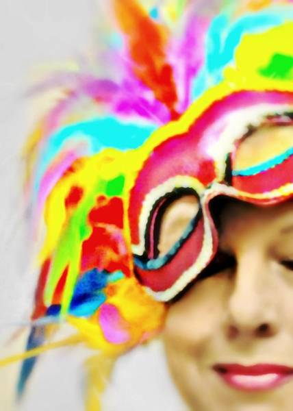 Wall Art - Photograph - Masquerade  by Diana Angstadt