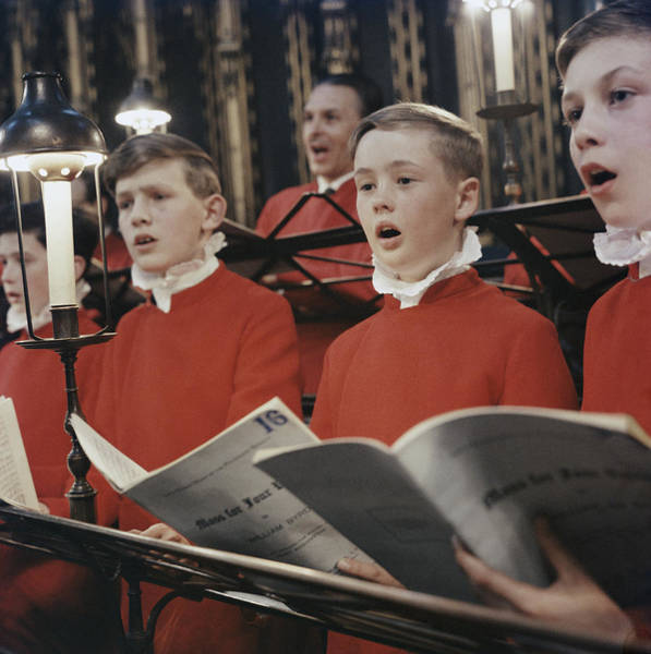 Photograph - Mass For Four Voices by Erich Auerbach