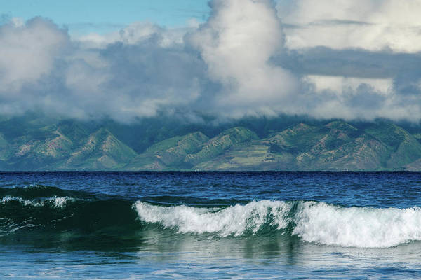 Photograph - Maui Breakers by Jeff Phillippi