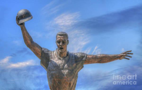 Wall Art - Digital Art - Mazeroski Statue Pnc Park Pittsburgh by Randy Steele