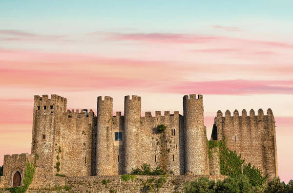 Knights Templar Photograph - Medieval Castle Of Obidos by David Letts