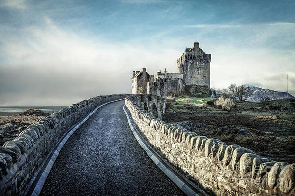 Scottish Highlands Wall Art - Photograph - Medieval Echoes by Evelina Kremsdorf