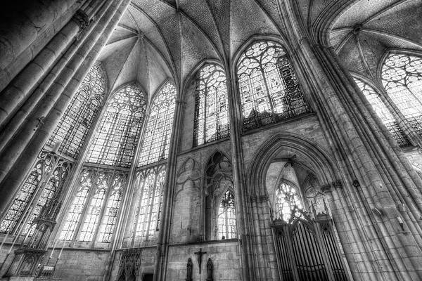 Wall Art - Photograph - Medieval Troyes Cathedral by David Pyatt