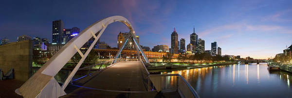 Wall Art - Photograph - Melbourne Riverside by Andrew Watson