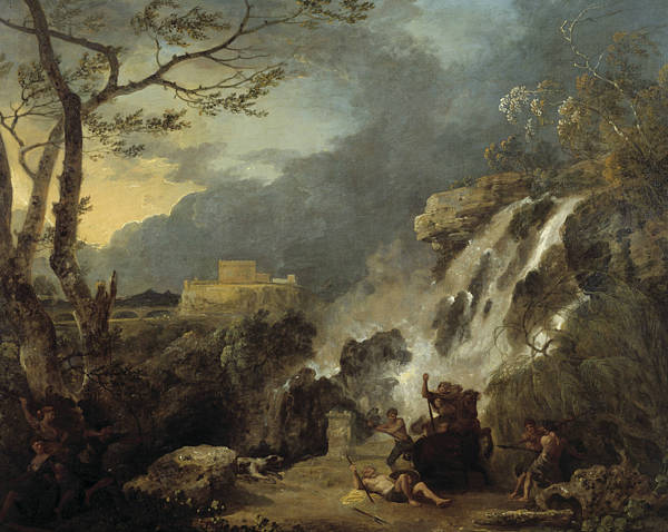Painting - Meleager And Atalanta by Richard Wilson
