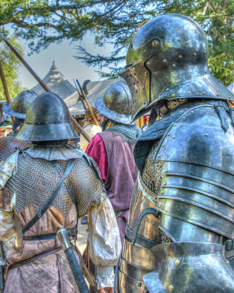 Photograph - Men At Arms by Jim Thompson