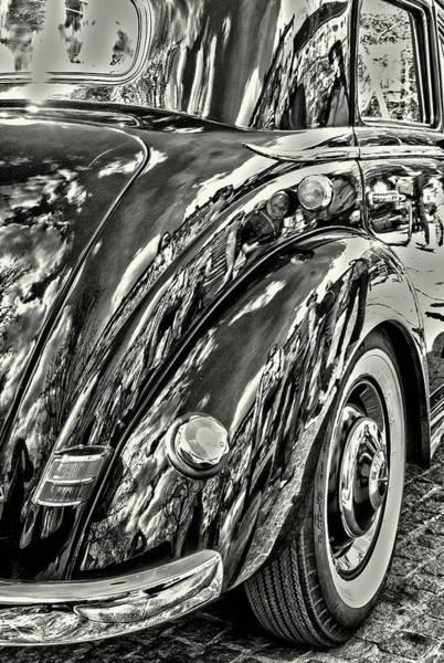 Wall Art - Photograph - Mercedes-benz 220 , Car Mudguard, Year Of Construction 1952 by Karl-Heinz Luepke