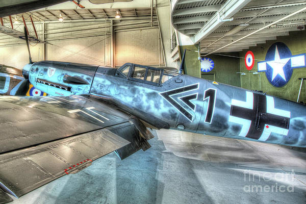 Ju 52 Wall Art - Photograph - Messerschmitt Bf 109 by Greg Hager
