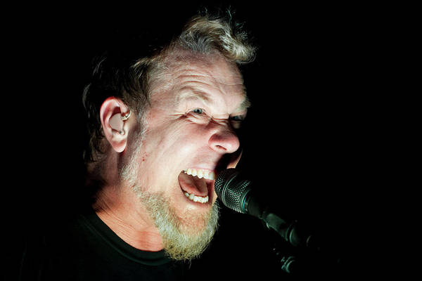 Photograph - Metallica Perform At The O2 London by Neil Lupin