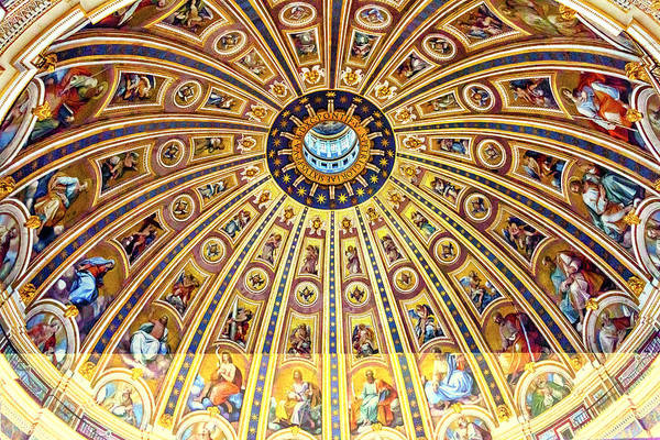 Wall Art - Photograph - Michelangelo Dome, Saint Peter's by William Perry