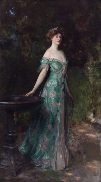 Wall Art - Painting - Millicent, Duchess Of Sutherland by John Singer Sargent