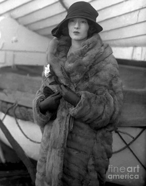 Photograph - Millicent Rogers by New York Daily News Archive