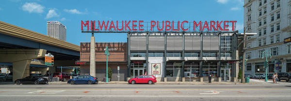 Wall Art - Photograph - Milwaukee Public Market In Milwaukee by Panoramic Images