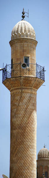 Photograph - Minaret Of Ulu Cami Mosque by Steve Estvanik