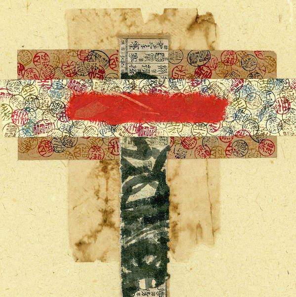 Wall Art - Mixed Media - Mini Collage 575a by Carol Leigh