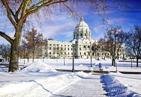 Photograph - Minnesota Capitol by Scott Kemper
