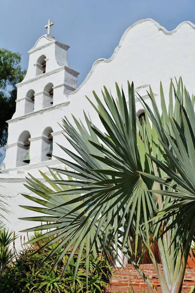 Photograph - Mission San Diego Portrait by Kyle Hanson