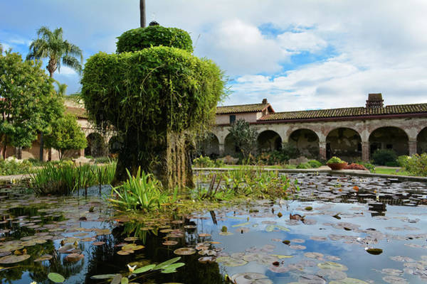 Photograph - Mission San Juan Capistrano Fountain by Kyle Hanson