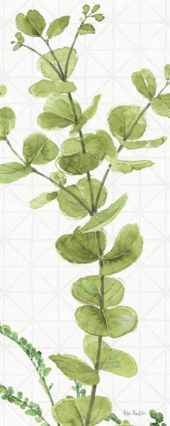 Wall Art - Painting - Mixed Greens Lx by Lisa Audit