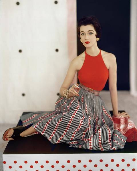 Photograph - Model In Nelly De Grab by Horst P. Horst