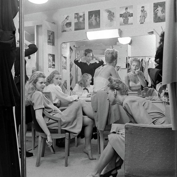 Human Interest Photograph - Models At The Neiman Marcus Store, An by Nina Leen